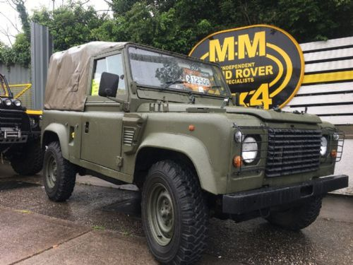 ***SOLD***GS Wolf Land Rover 90 300 TDi 2.5 Ex Military Defender 1997 - VIN 112819